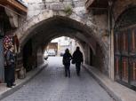 alley in al-Jdeideh neighbourhood, in the Old City of Aleppo, Syria