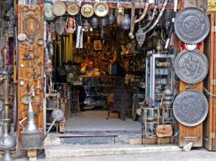 An antique shop in al-Jdeideh neighbourhood, in the Old City of Aleppo