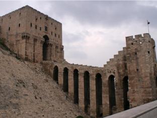 Aleppo's historic citadel, Syria