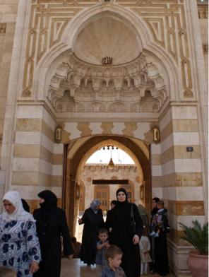 Aleppo's Umayyad mosque, Syria