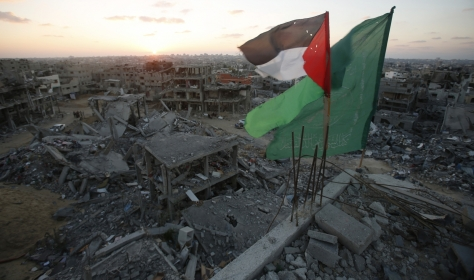 palestine-hamas-flags-gaza-city