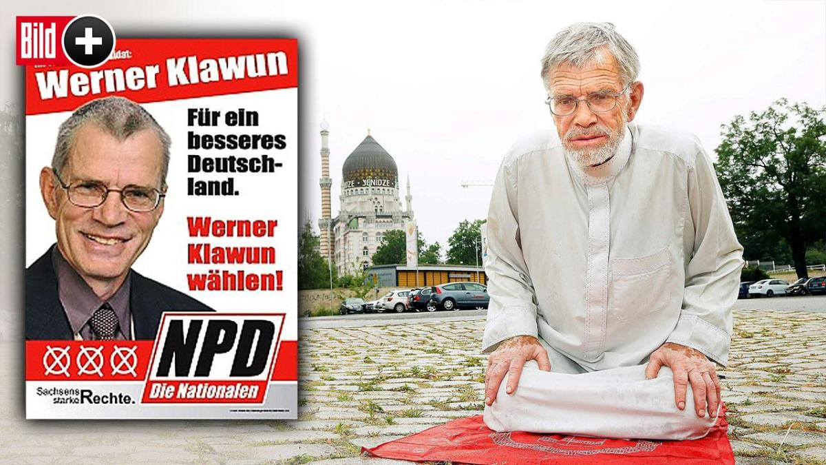 A former Pro-Nazi Islamophobe German MP embraces Islam at 75 years old - Meet our new brother, Mr Werner Klawun (Ibrahim)