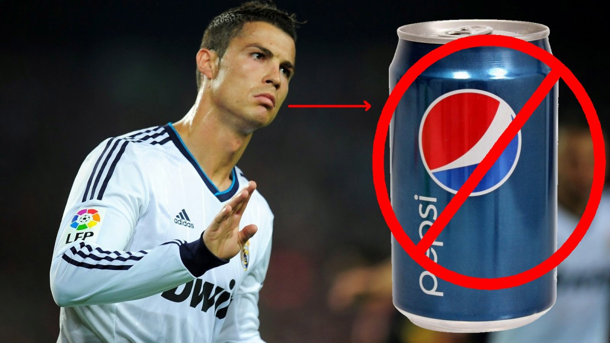 Ronaldo Rejected Million of Dollar from Pepsi TV because they funded Israeli Soldiers