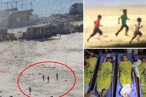 Last-moments-of-four-Palestinian-boys-before-Israeli-shell-wiped-hit-them-on-a-Gaza-beach