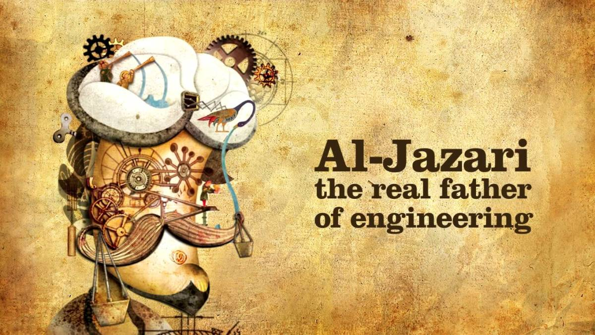 Do you know Al-Djazari? A Muslim Scholar And Inventor Of The First Mechanical Robot!!