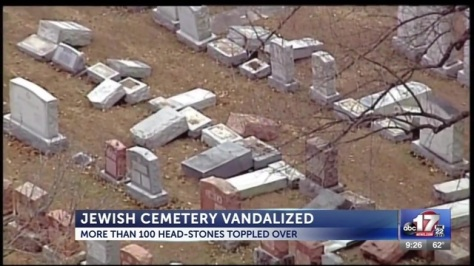 Jewish cemetery vandalized in St Louis area20170221055959_5920147_ver1.0_640_360