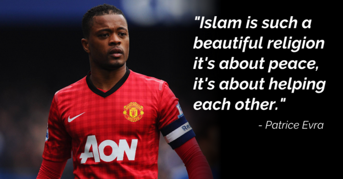 Former Man United Player Patrice Evra Defends Muslims, Says Islam is 'a Beautiful Religion'