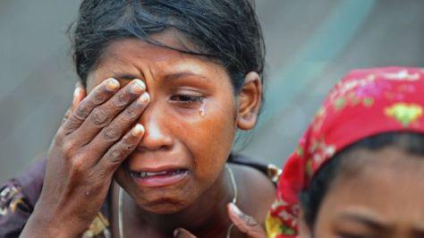 Rohingya-muslim-woman-crying
