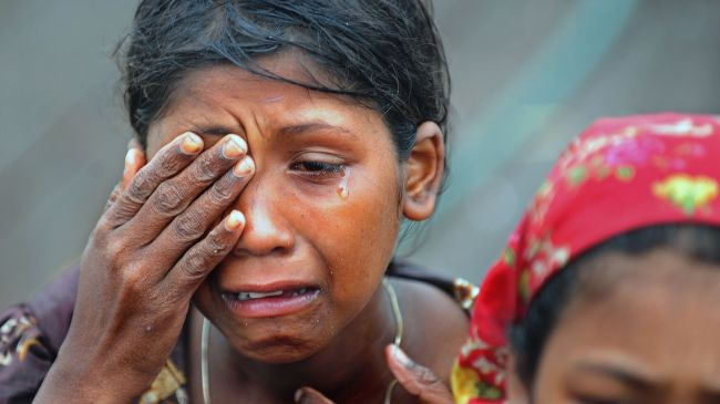 Rohingya-muslim-woman-crying