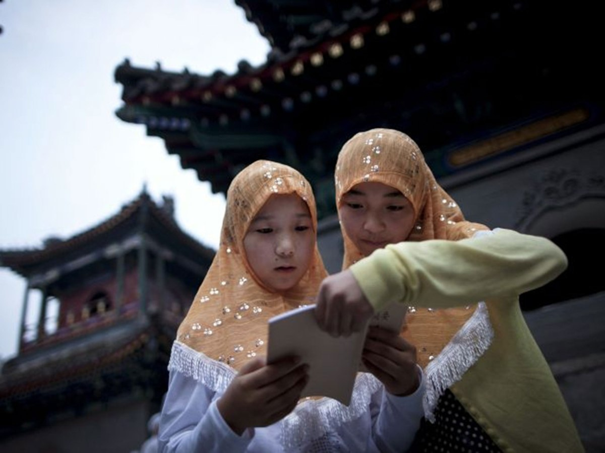 A Muslim arrested and put in prison for teaching Quran in China