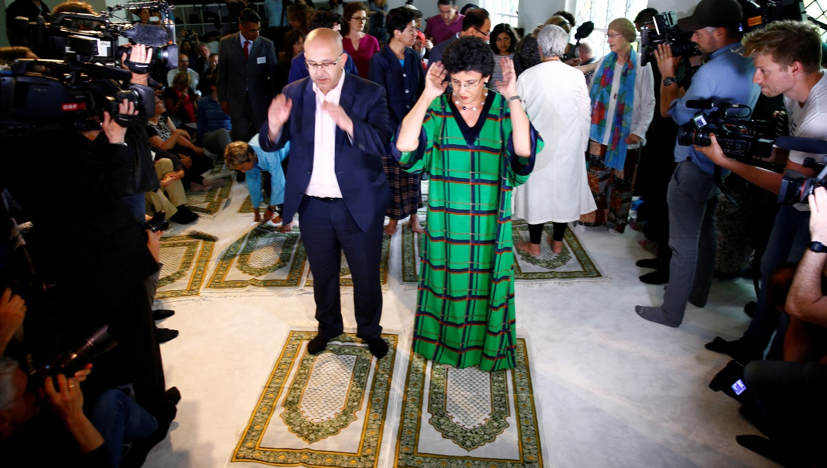 Inside Crazy Berlin's 'Liberal Mosque' designed for women imams, gays and transsexuals.