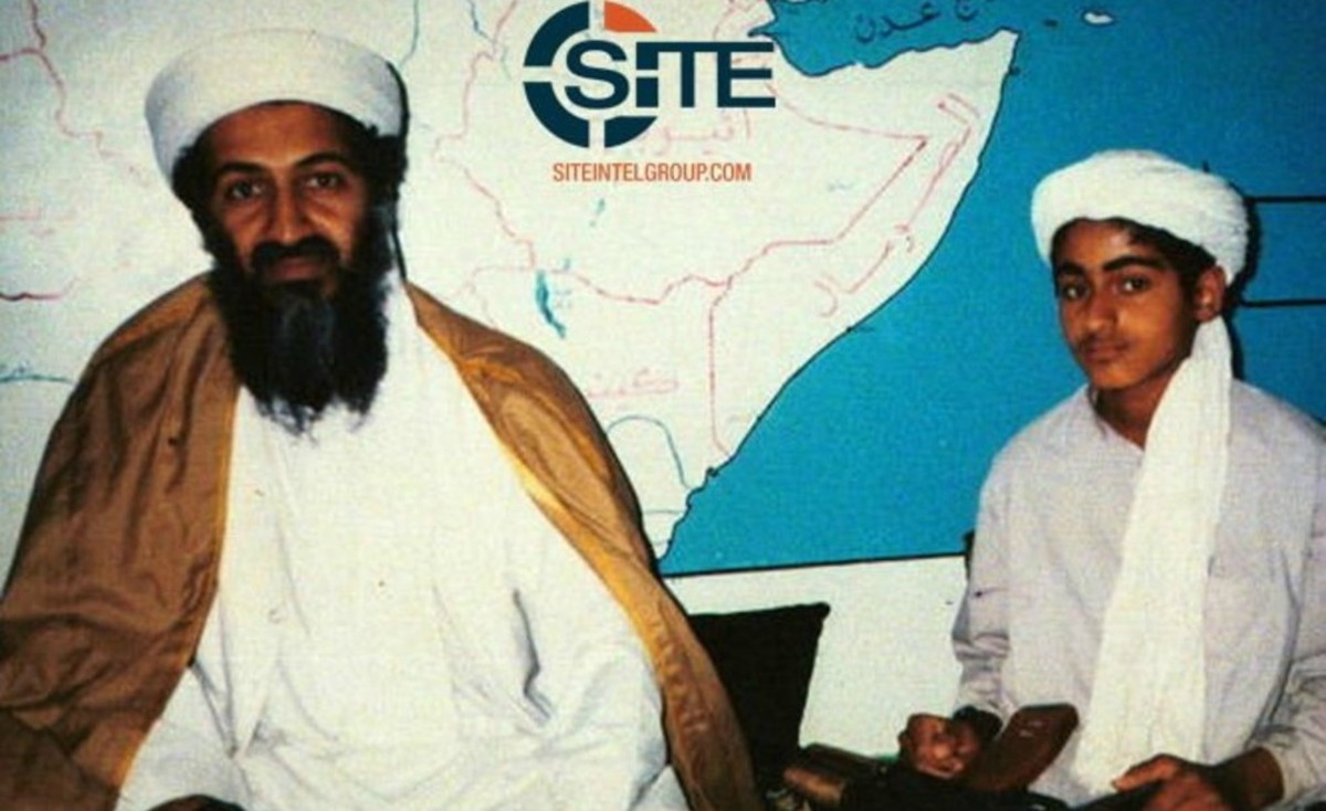 who s the real terrorist Hamza bin laden, a son and heir to the infamous terrorist leader osama bin laden, has big plans for the future, including overthrowing the saudi monarchy.